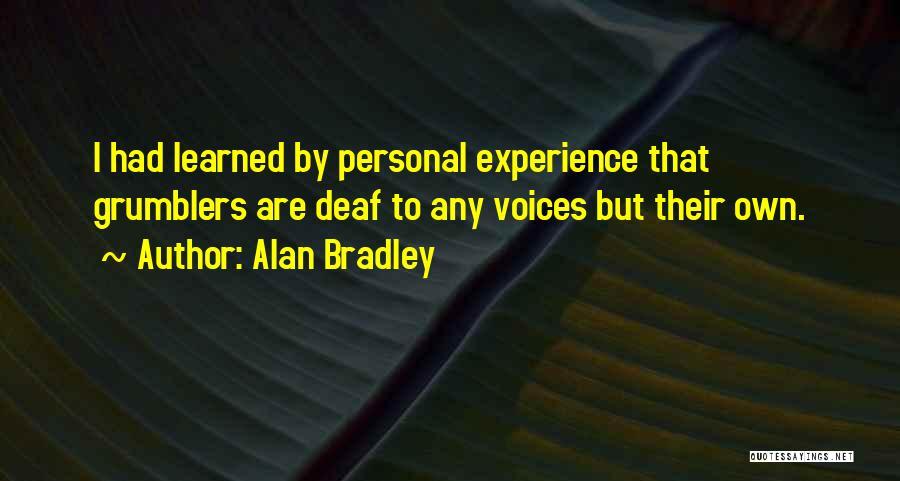 Alan Bradley Quotes 469903
