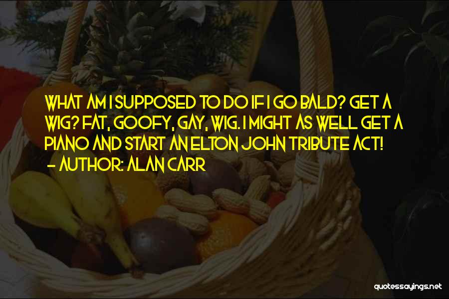 Alan Carr Funny Quotes By Alan Carr