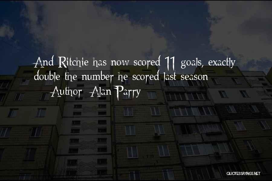 Alan Parry Quotes 882649