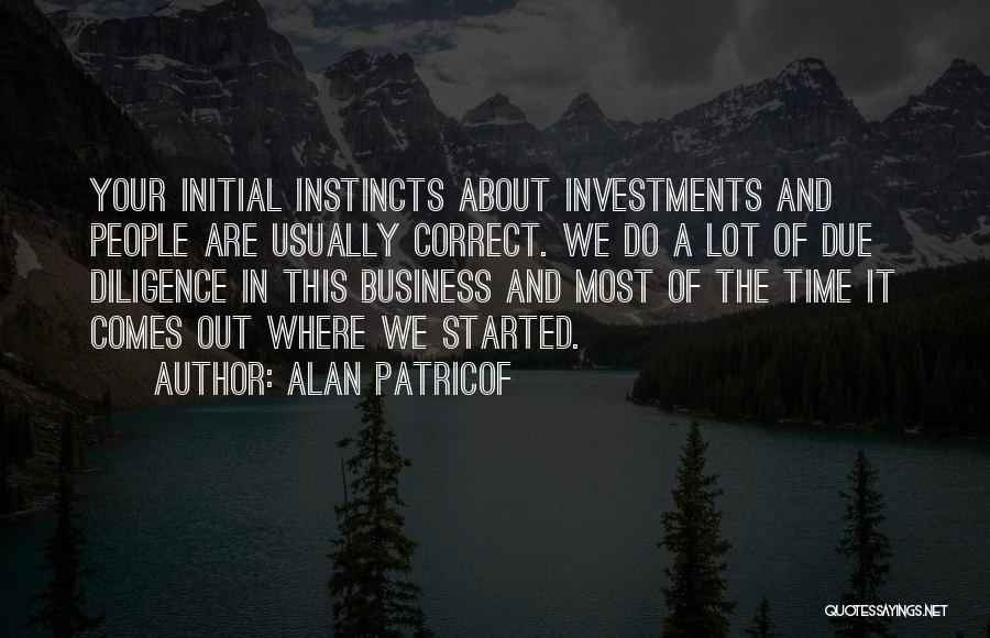 Alan Patricof Quotes 502777