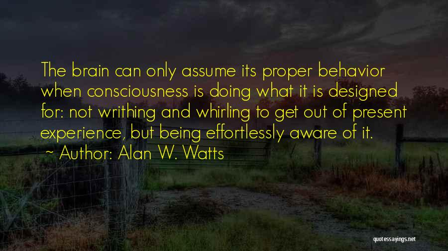 Alan W. Watts Quotes 1204939