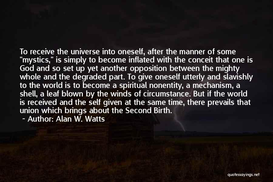 Alan W. Watts Quotes 1290290