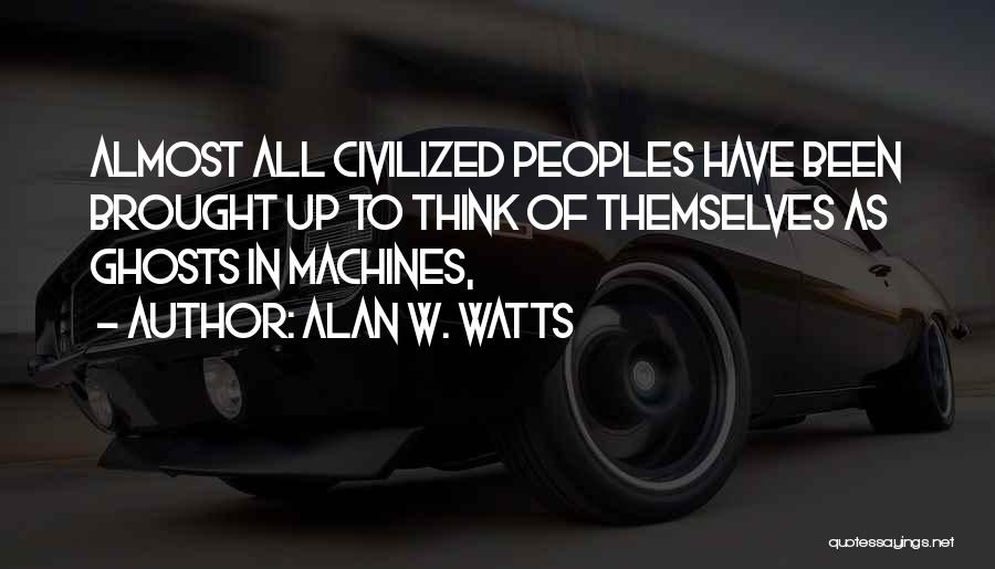 Alan W. Watts Quotes 150148