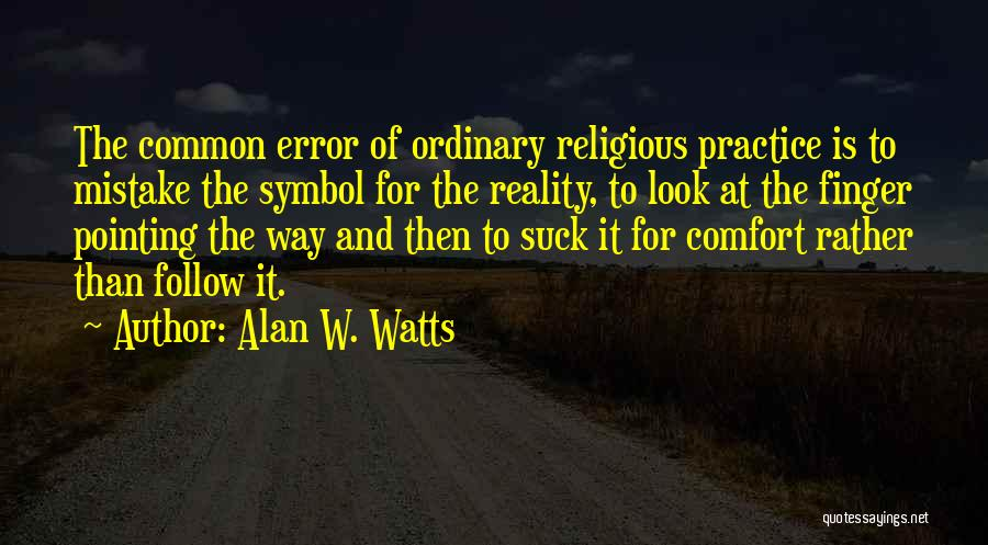 Alan W. Watts Quotes 1913727