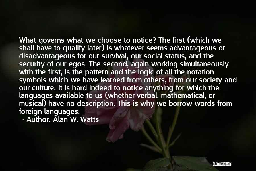 Alan W. Watts Quotes 1935892
