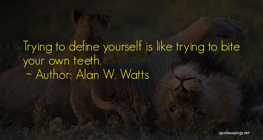 Alan W. Watts Quotes 367555