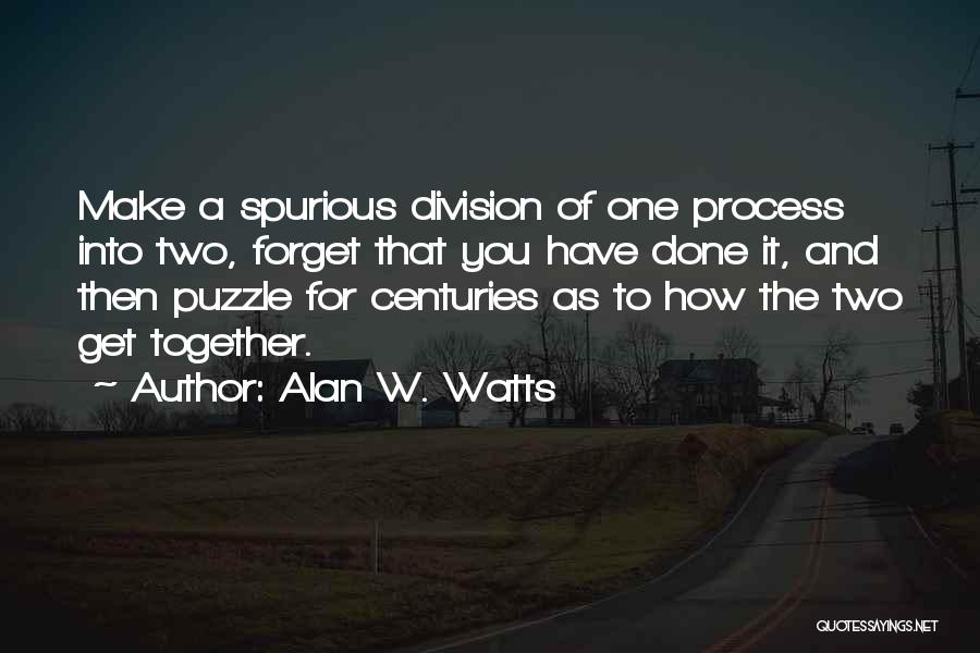 Alan W. Watts Quotes 421856