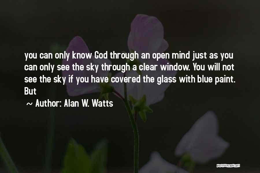 Alan W. Watts Quotes 723940