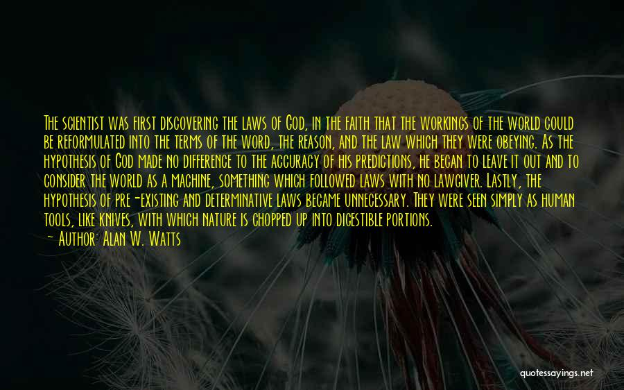 Alan W. Watts Quotes 782713