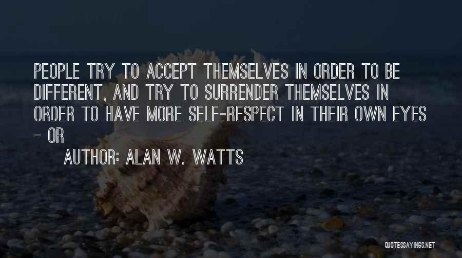 Alan W. Watts Quotes 820762