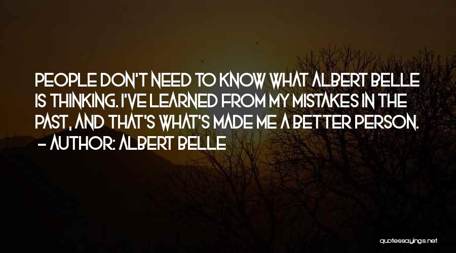 Albert Belle Quotes 1241798