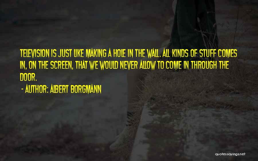 Albert Borgmann Quotes 582693
