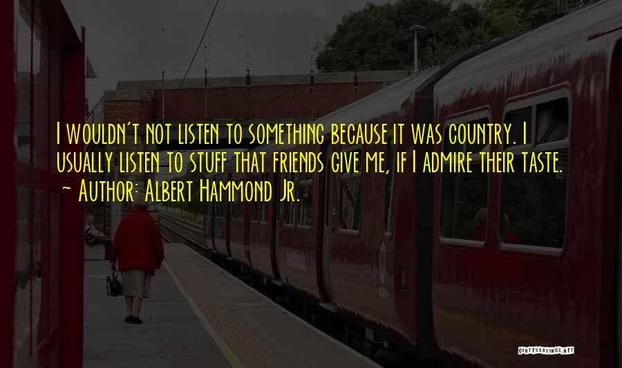 Albert Hammond Jr. Quotes 1884924
