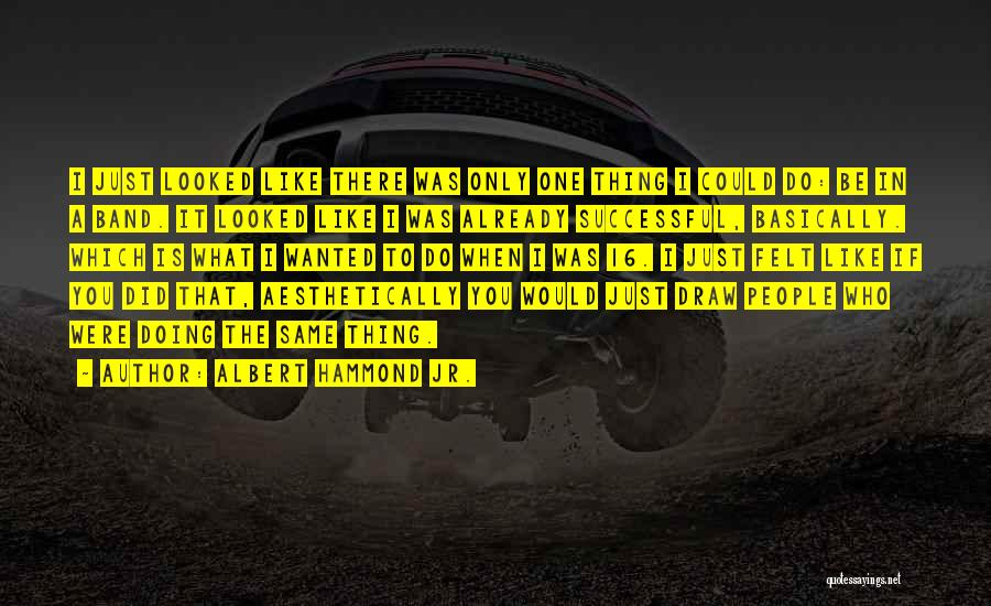 Albert Hammond Jr. Quotes 409730