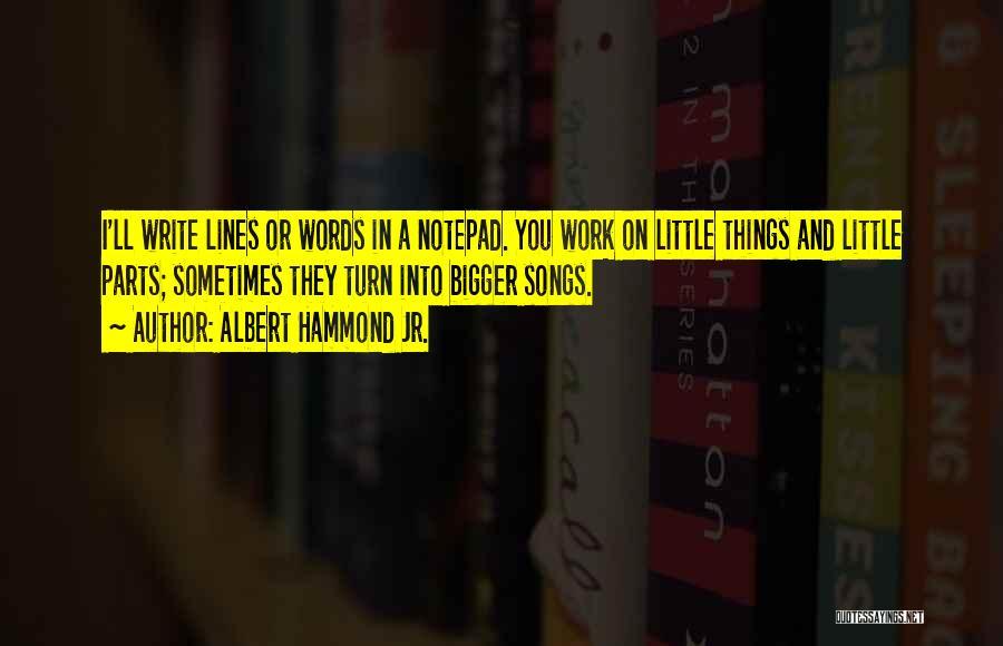 Albert Hammond Jr. Quotes 638656