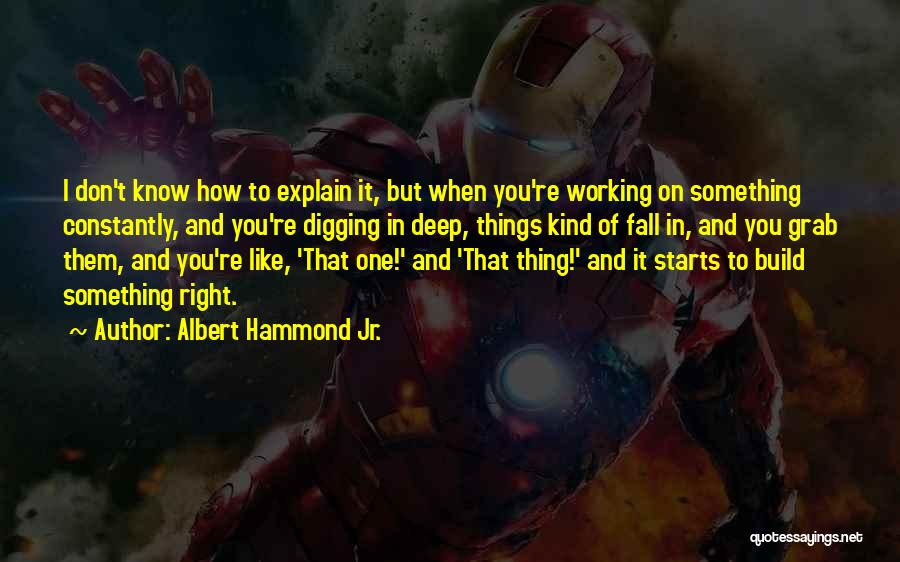 Albert Hammond Jr. Quotes 732392