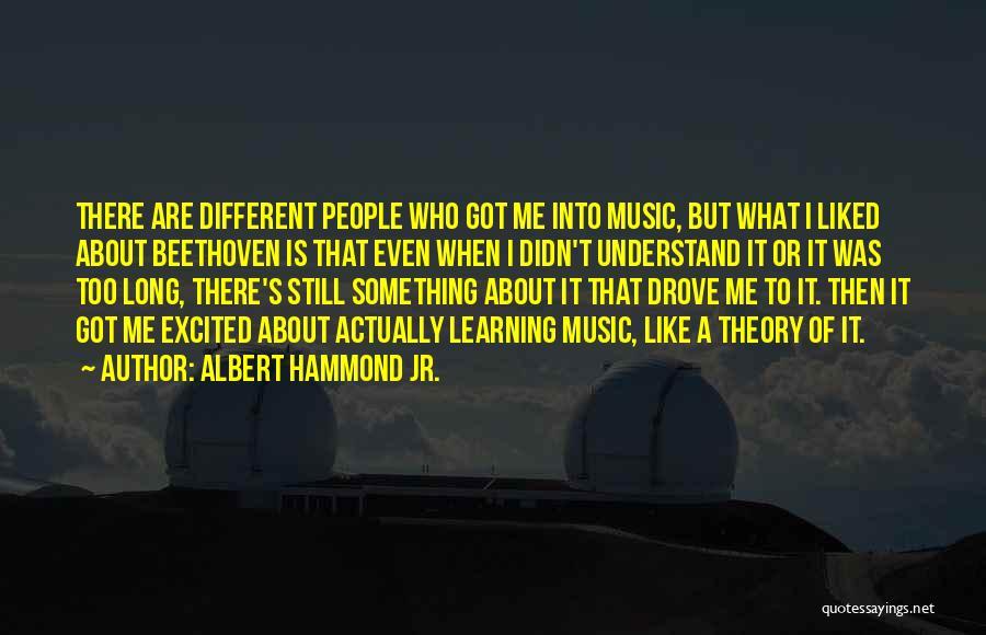 Albert Hammond Jr. Quotes 895224