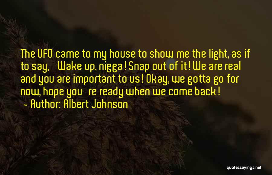 Albert Johnson Quotes 1607560