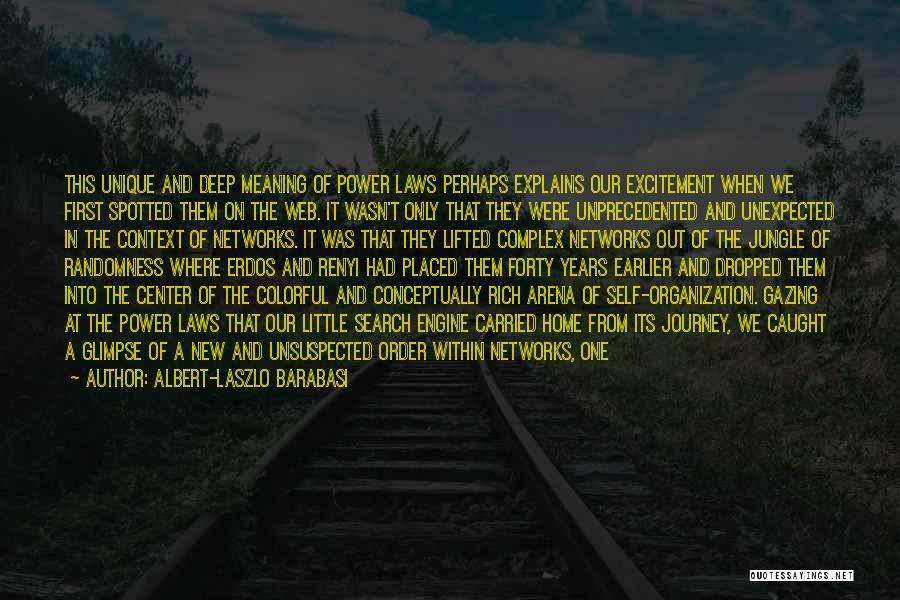 Albert-Laszlo Barabasi Quotes 1426999