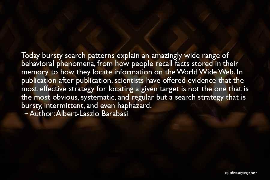 Albert-Laszlo Barabasi Quotes 306444