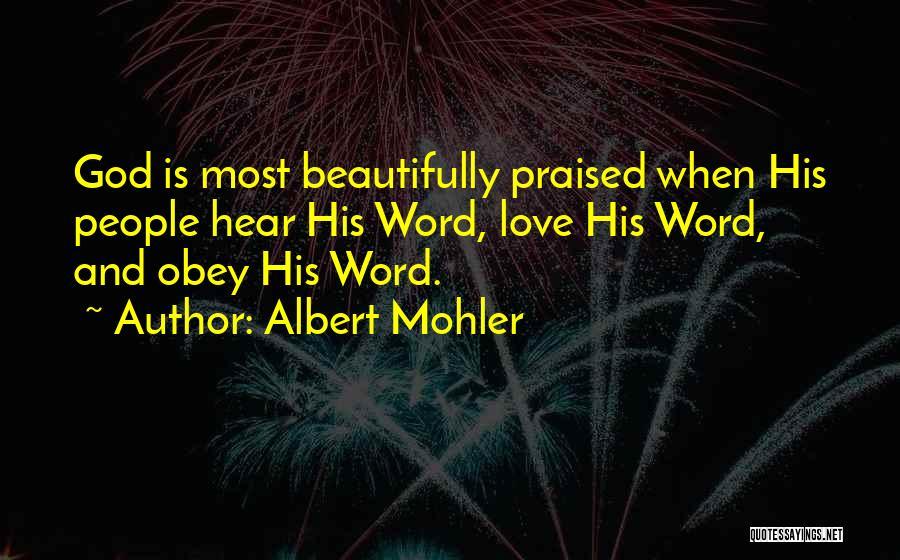 Albert Mohler Quotes 1439699