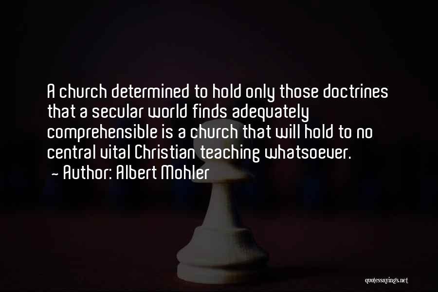 Albert Mohler Quotes 382028