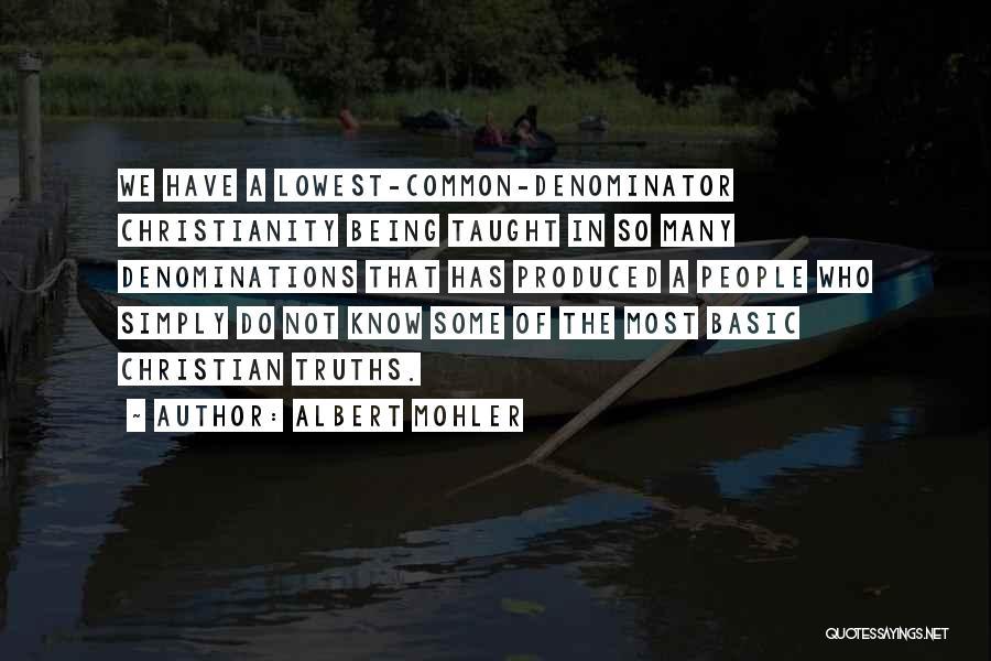 Albert Mohler Quotes 627448