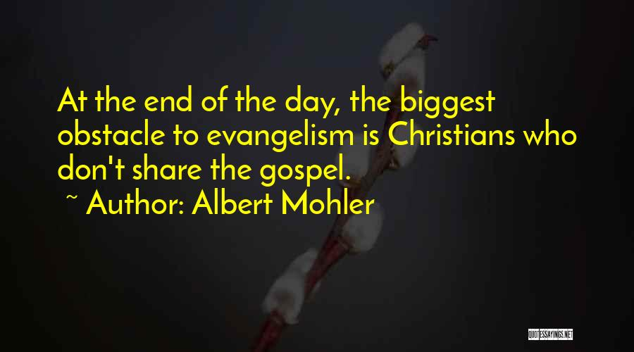 Albert Mohler Quotes 920659