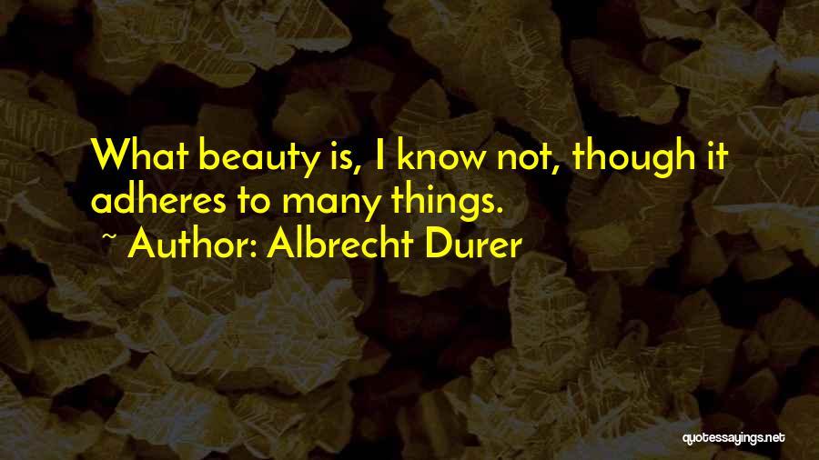 Albrecht Durer Quotes 2138758
