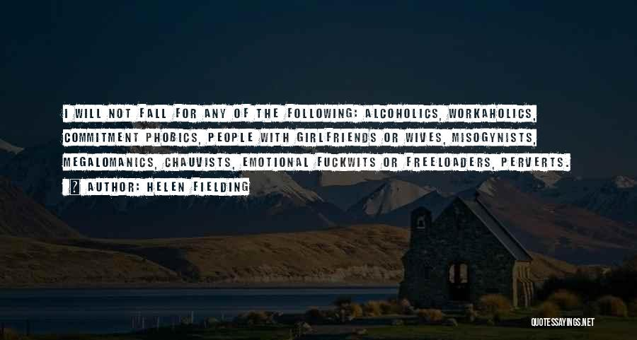 Alcoholics Quotes By Helen Fielding