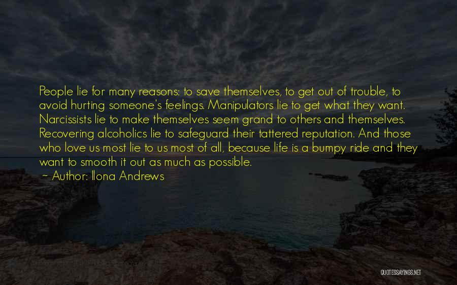 Alcoholics Quotes By Ilona Andrews