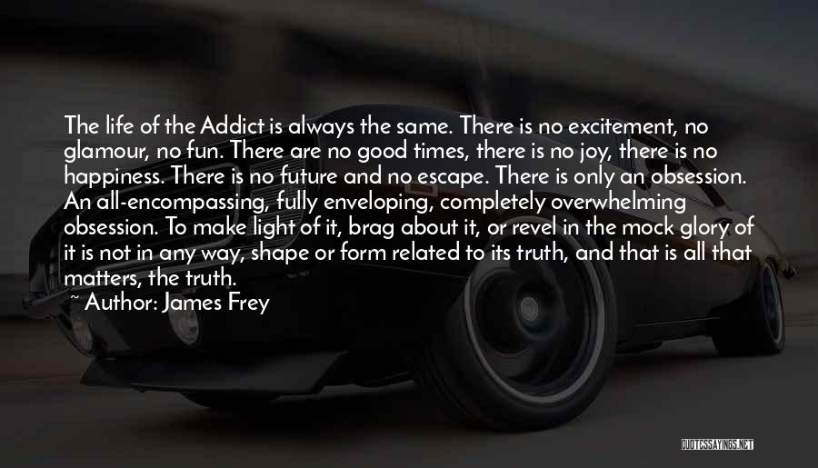 Alcoholics Quotes By James Frey