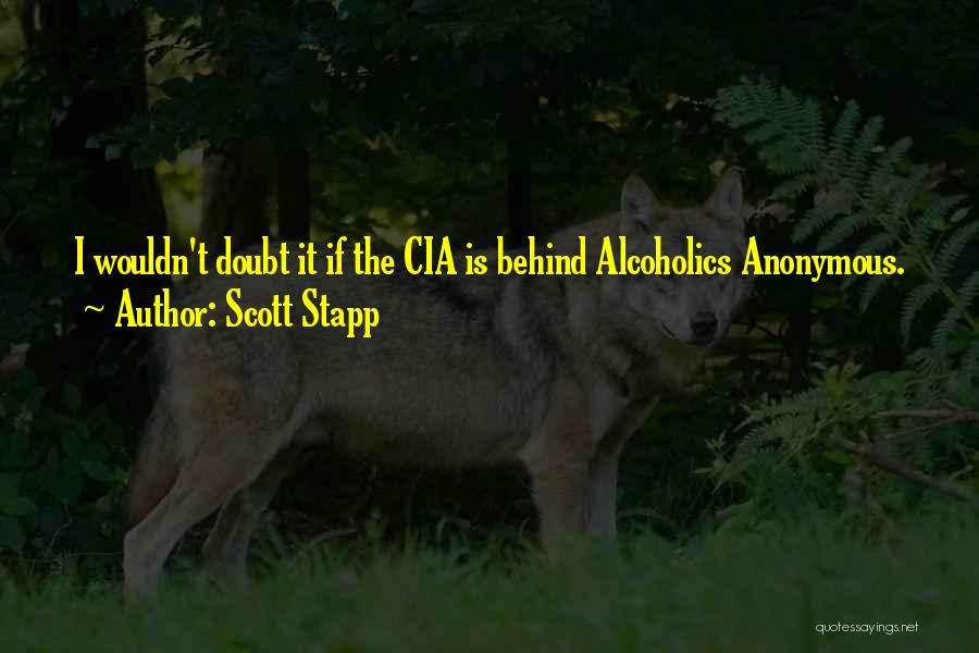 Alcoholics Quotes By Scott Stapp