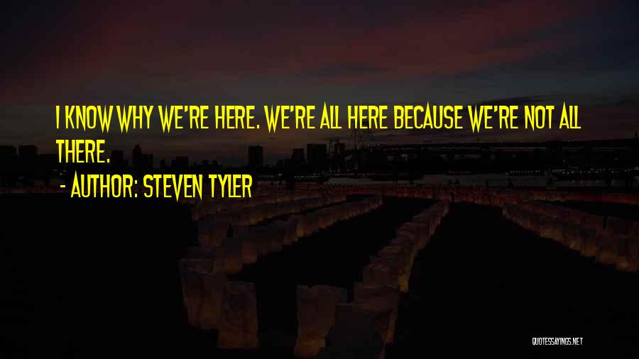Alcoholics Quotes By Steven Tyler