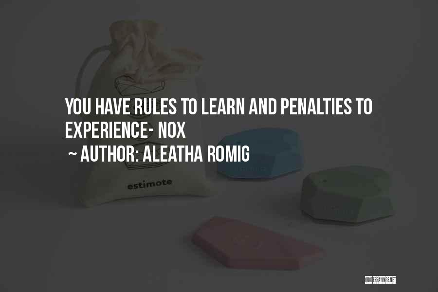 Aleatha Romig Quotes 2144136