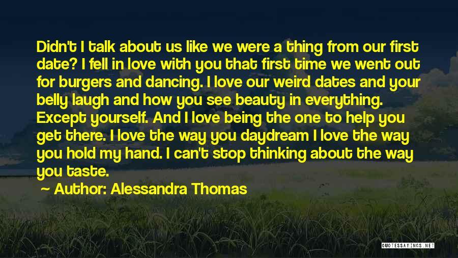 Alessandra Thomas Quotes 1015804