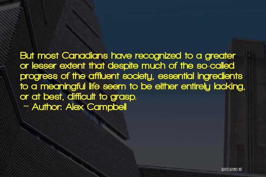 Alex Campbell Quotes 2080735