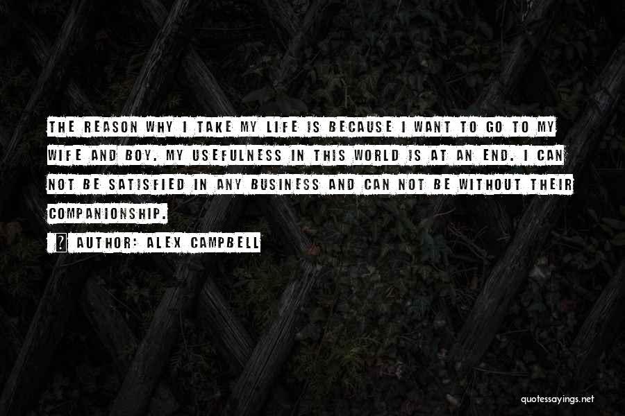 Alex Campbell Quotes 864460