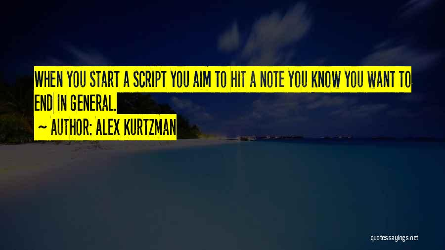 Alex Kurtzman Quotes 1736629