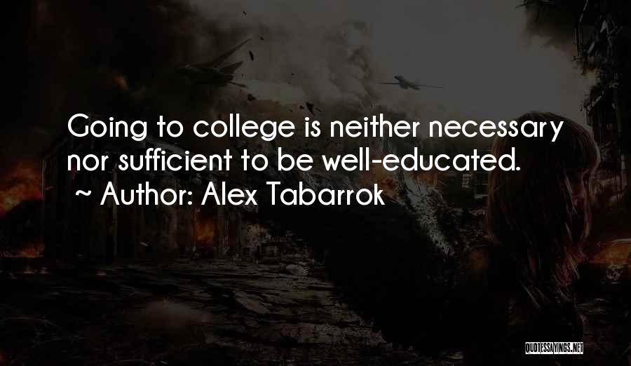 Alex Tabarrok Quotes 1712184