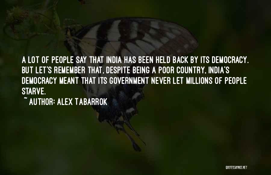 Alex Tabarrok Quotes 437192