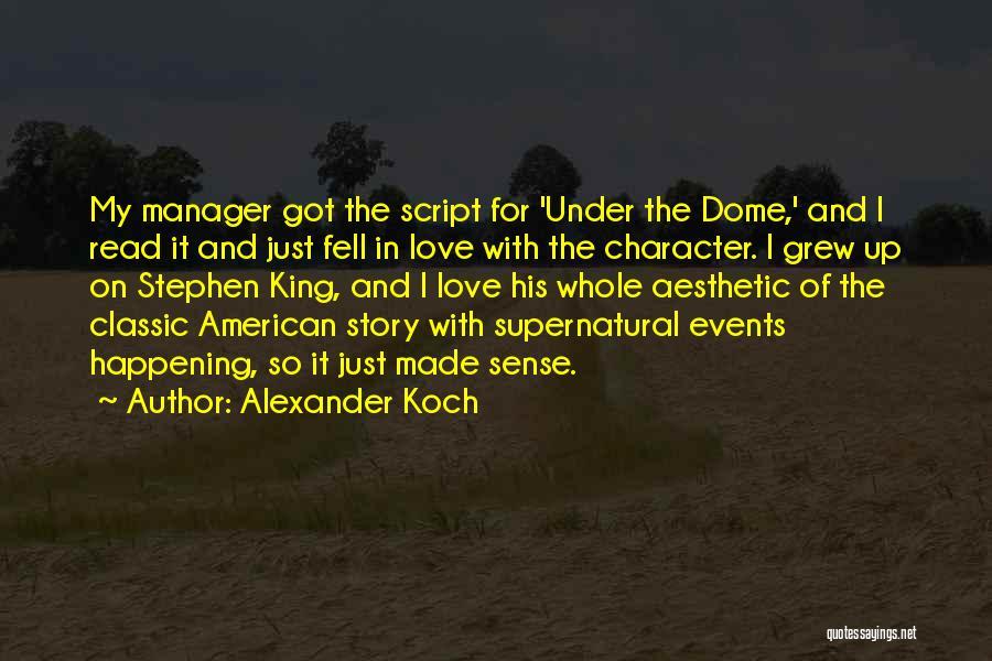 Alexander Koch Quotes 2011015