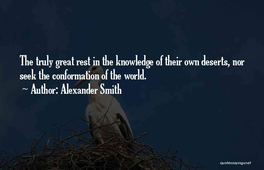 Alexander Smith Quotes 1025595