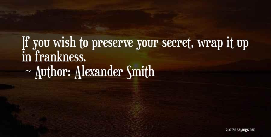 Alexander Smith Quotes 1391321