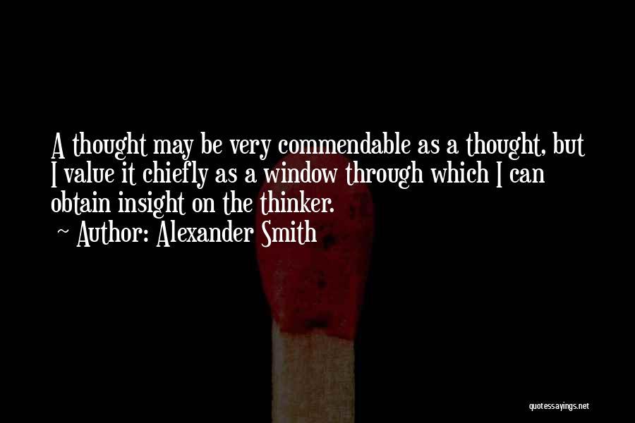 Alexander Smith Quotes 141653