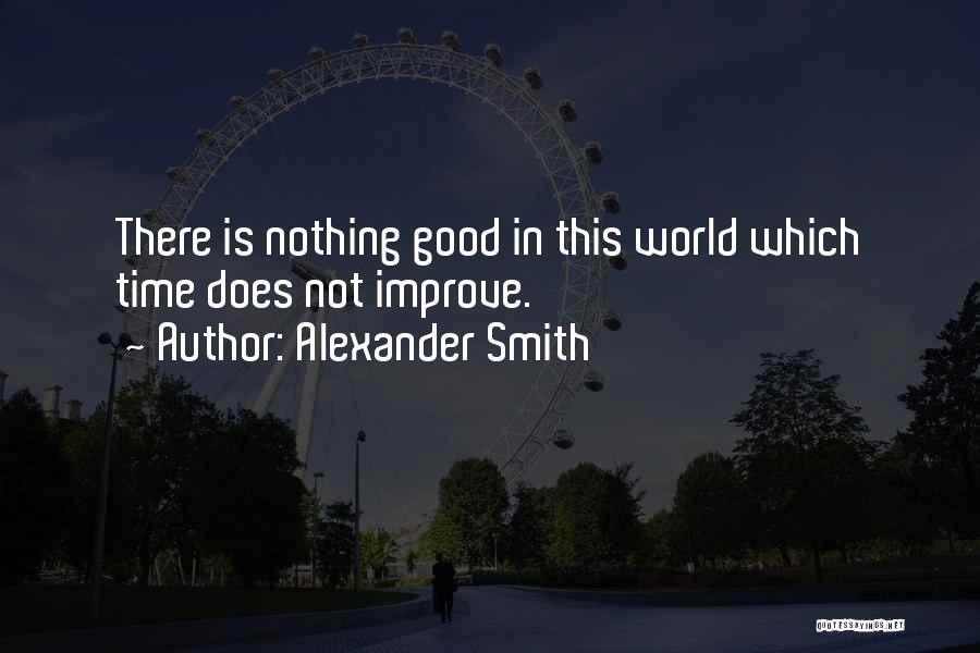 Alexander Smith Quotes 721123
