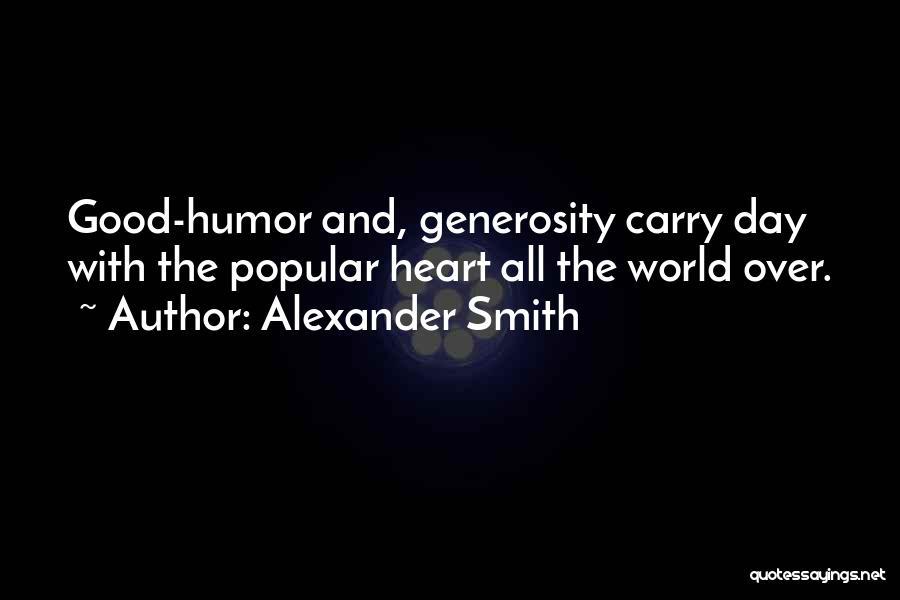Alexander Smith Quotes 742327