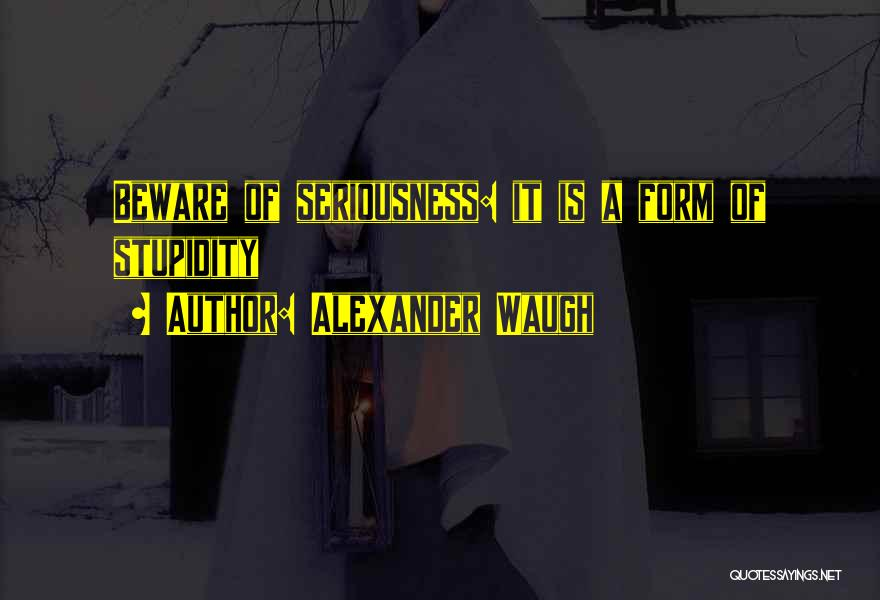 Alexander Waugh Quotes 602205