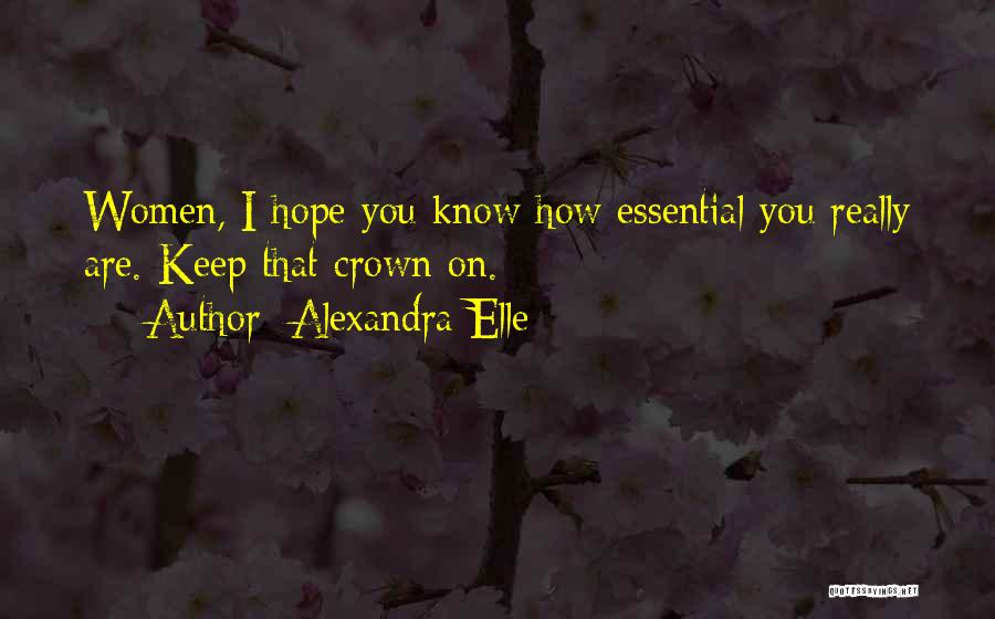 Alexandra Elle Quotes 1105371