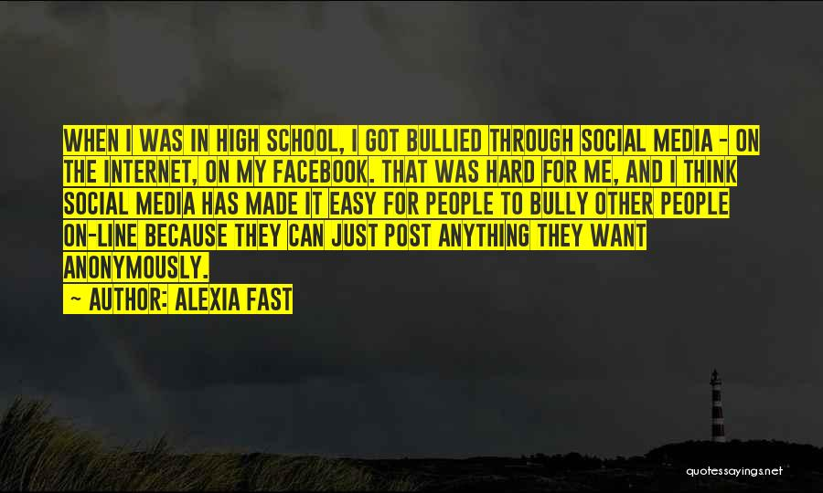 Alexia Quotes By Alexia Fast